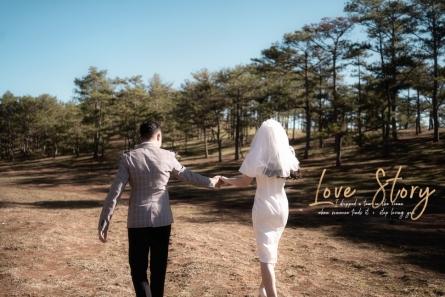 chụp ảnh cưới đẹp nhất vào Mùa thu Đà lạt