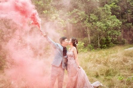Hồ Cốc - địa điểm chụp hình cưới đẹp