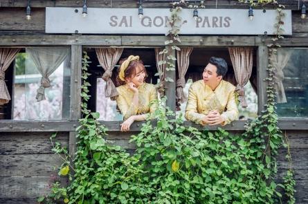 Album cưới trọn gói tại phim trường Alibaba