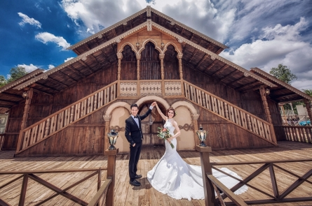 Chụp ảnh cưới giá rẻ tại phim trường L'amour