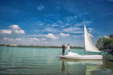 Hình cưới chụp ở phim trường L'amour,SUNWEDDING chụp ảnh cưới phim trường Lamour