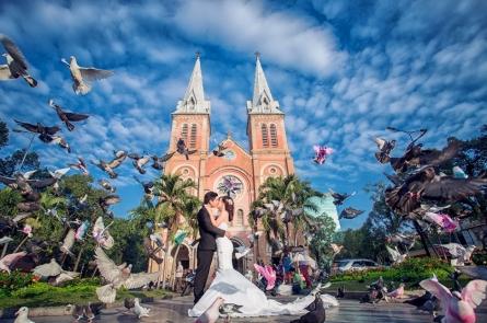 Bí quyết để các cô dâu chú rể quay phim chụp ảnh cưới đẹp tại TPHCM