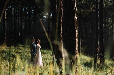 Chụp ảnh cưới tại phim trường Đà Lạt