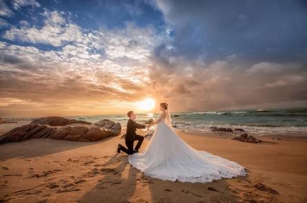 Chụp ảnh cưới đẹp ở Hồ Cốc