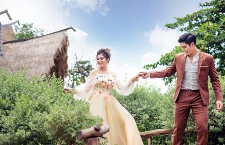 Album cưới đẹp ở phim trường Alibaba