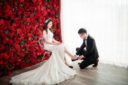 Album cưới giá rẻ tại phim trường Alibaba