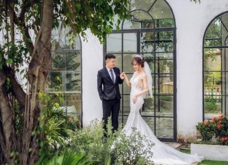 Chụp ảnh cưới đẹp kiểu Hàn Quốc tại phim trường Cabin 69