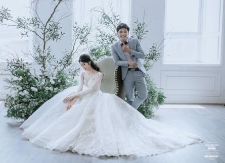 Làm cách nào để chọn được trang phục cưới đẹp và không bị lỗi mốt