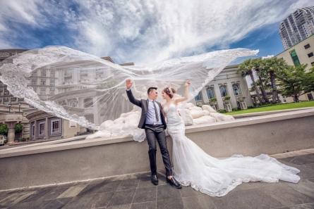 Lý do tại sao chụp ảnh cưới concept Hàn Quốc tại studio được nhiều cặp đôi cô dâu chú rể chọn lựa ?