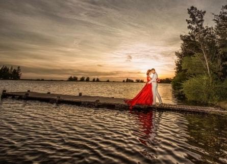 Chụp hình cưới Hồ Cốc Vũng tàu