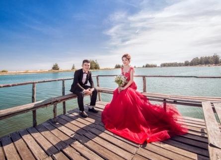 Chụp ảnh cưới ngoại cảnh Hồ Cốc - Hồ Tràm