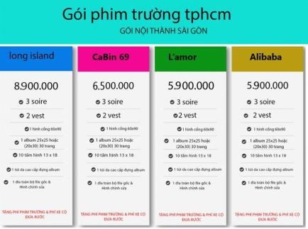 TRỌN GÓI ALBUM PHIM TRƯỜNG TPHCM 2020