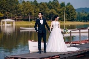 chụp ảnh cưới Hồ Cốc và Vũng Tàu